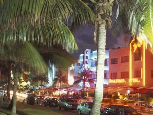 Colorful Street Life, South Beach, Miami, Florida, USA by Stuart Westmoreland