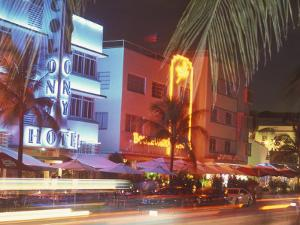 Colorful Street Life, South Beach, Miami, Florida, USA by Stuart Westmoreland