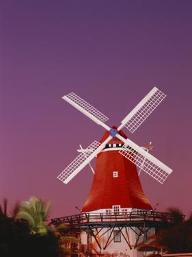 The Mill Resort Against Pink Sky, Oranjestad, Aruba by Stuart Westmoreland