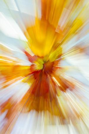 Colorful glass with blurred motion effect. by Stuart Westmorland
