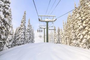 Crystal Mountain Ski Resort, Near Mt. Rainier, Wa, USA by Stuart Westmorland