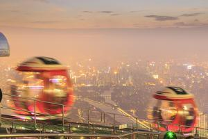 Ferris Wheel Near Top of Canton Tower, Observation Deck, Guangzhou, China by Stuart Westmorland