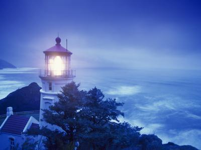 Heceta Head Lighthouse, Devil's Elbow State Park, Oregon Coast by Stuart Westmorland