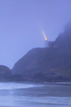 Heceta Head Lighthouse near Florence, OR by Stuart Westmorland