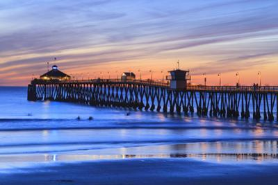 Imperial Beach Pier at Twilight, San Diego, Southern California, USA by Stuart Westmorland