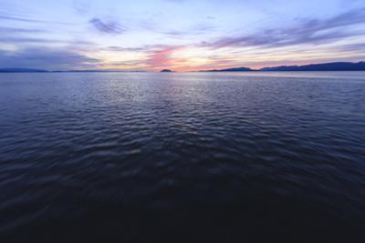 Inside Passage near Texada Island, Georgia Strait, British Columbia, Canada by Stuart Westmorland