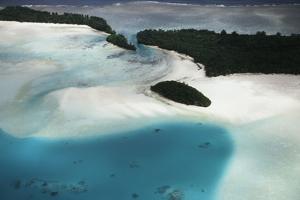 Micronesia, Palau, Ariel View of Rock Islands by Stuart Westmorland