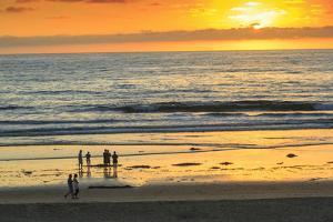 Pacific Beach sunset, San Diego, California, USA by Stuart Westmorland