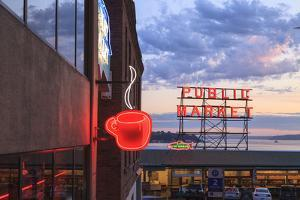 Pike Place Public Market Center, Seattle, Wa, USA by Stuart Westmorland