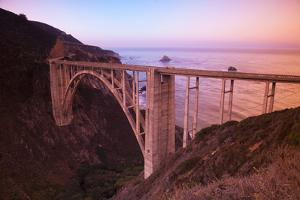 Scenic Bixby Bridge south of Carmel Highlands, California, USA by Stuart Westmorland