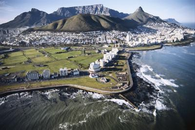 South Africa, Capetown, Aerial View of City by Stuart Westmorland
