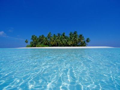 Uninhabited Tropical Island, Ari Atoll, Maldives by Stuart Westmorland