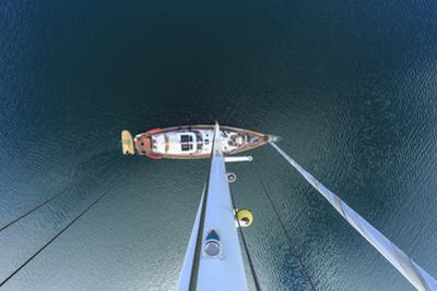 View from Odysseus, 90 foot sailing yacht, San Diego, California, USA by Stuart Westmorland