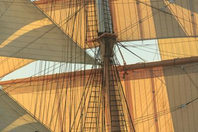 View from Odysseus, PR 90 foot sailing yacht, San Diego, California, USA by Stuart Westmorland