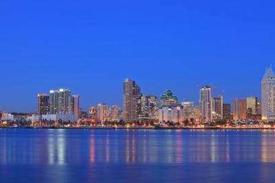 View of San Diego Skyline from Coronado Island, California, USA by Stuart Westmorland