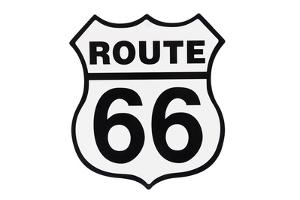Highway Road Sign Route 66 by StuckPixel