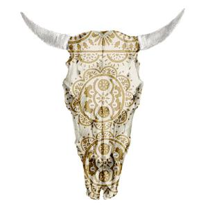 Day of the Dead Skull Mount VII by Studio W