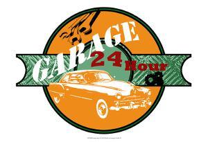 Garage Sign I by Studio W