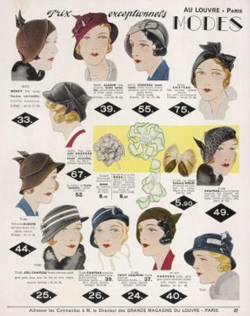 Stylish Selection of Women's Hats Including Many Brimless Designs