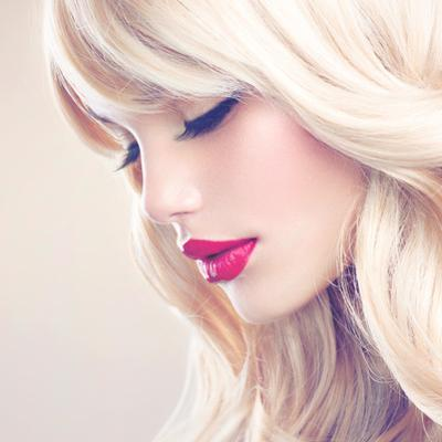 Beauty Girl with Blonde Hair by Subbotina Anna