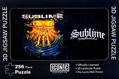 Sublime - Everything Under the Sun 3D Jigsaw Puzzle