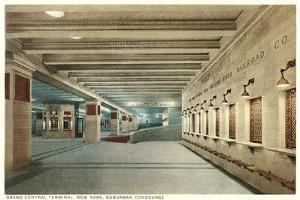 Suburban Concourse, Grand Central Station