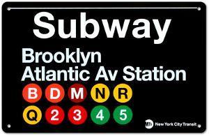 Subway Brooklyn- Atlantic Avenue Station
