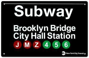 Subway Brooklyn Bridge