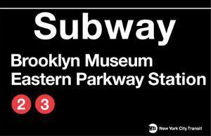 Subway Brooklyn Museum- Eastern Parkway Station