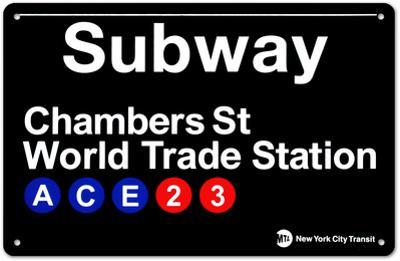 Subway Chambers Street- World Trade Station