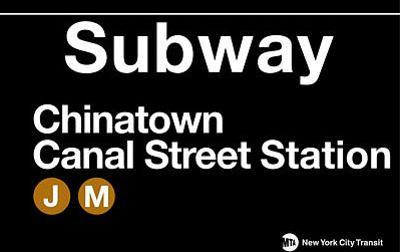 Subway Chinatown- Canal Street Station