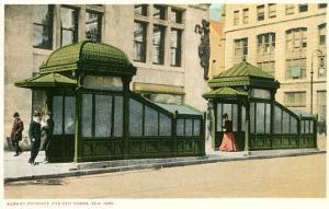 Subway Entrance, New York City