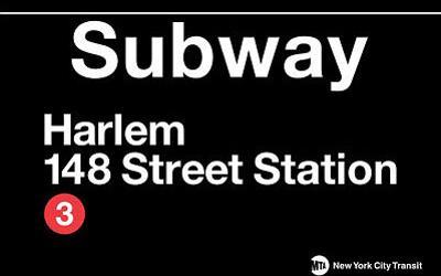 Subway Harlem- 148 Street Station