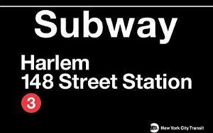 Subway Harlem- 148 Street Station