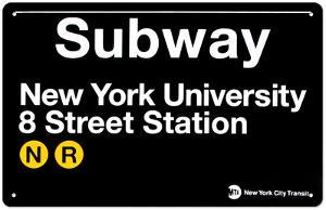 Subway New York University- 8 Street Station