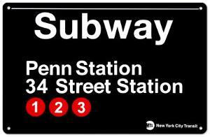 Subway Penn Station- 34 Street Station