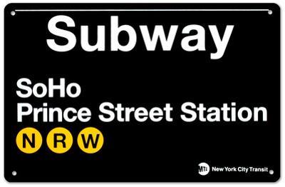 Subway SoHo- Prince Street Station