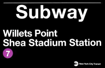 Subway Willets Point- Shea Stadium Station