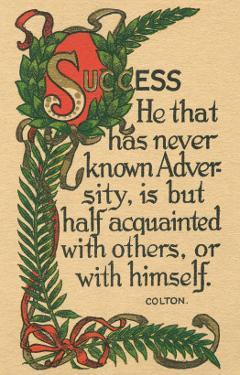 Success, Colton Quote