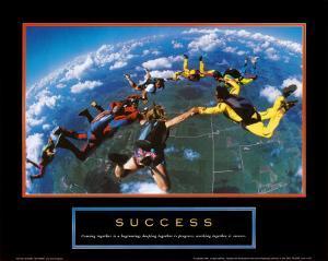 Success: Skydivers
