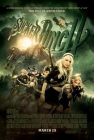 Sucker Punch (Emily Browning, Abbie Cornish, Vanessa Hudgins) Movie Poster