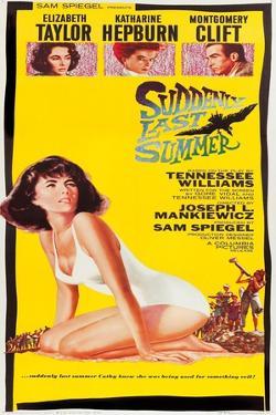 Suddenly Last Summer, Elizabeth Taylor, Katharine Hepburn, Montgomery Clift, 1959