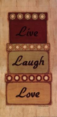 Live Laugh Love by Sue Allemand