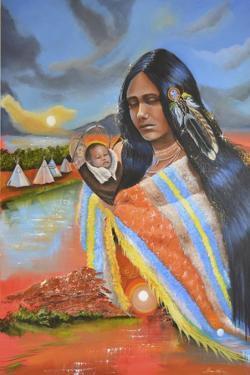 Ayasha (Little One) by Sue Clyne