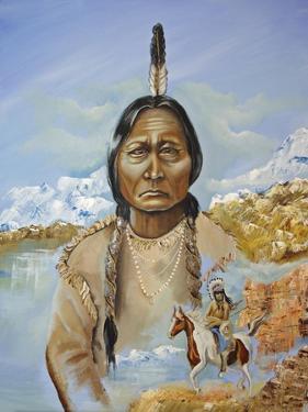 Sitting Bull by Sue Clyne