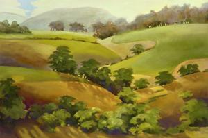 Golden Hills by Sue Darius