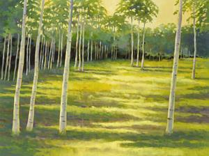Sunlit Meadow by Sue Darius