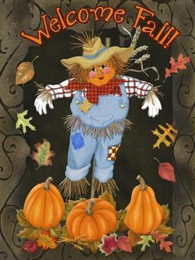 Fall Scarecrow I by Sue Ditzian