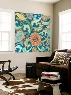 Paisley Painting II by Sue Ditzian