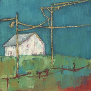 Fon Barn III by Sue Jachimiec